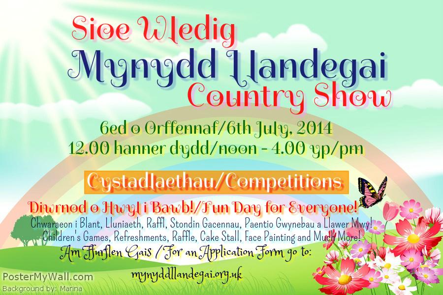 Mynydd Llandegai Country Show